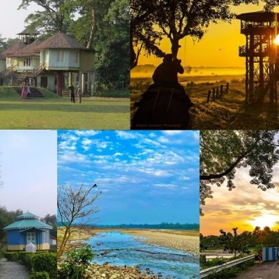 Places beside Murti River to stay