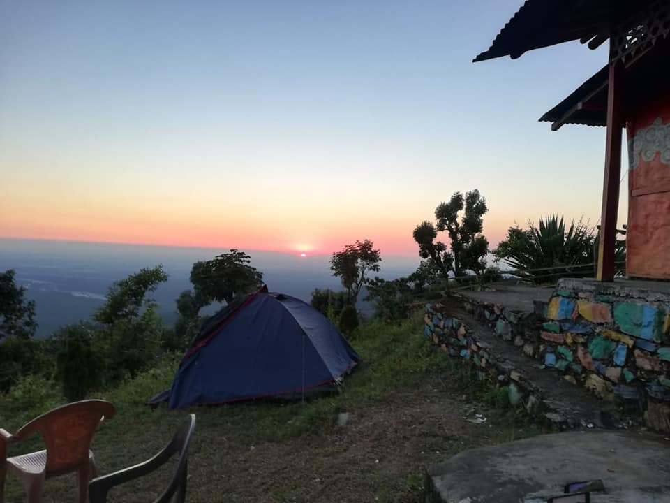 Camping in Dooars at  Lepchakha Homestay camps