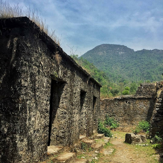 Buxa Fort and it's cell