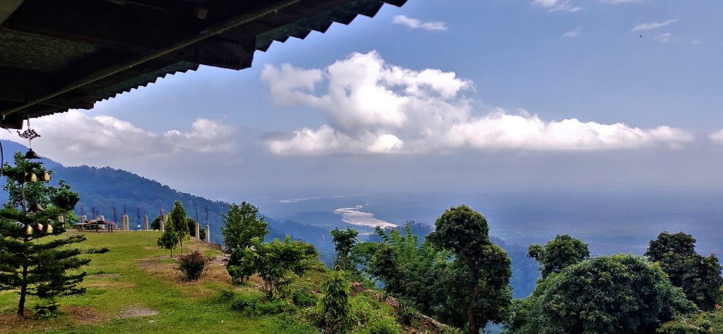 View from Lepchakha Homestay